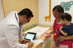 Visit by Our Pediatrician